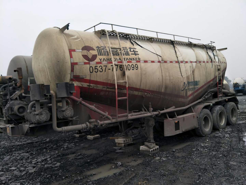 散装水泥罐车