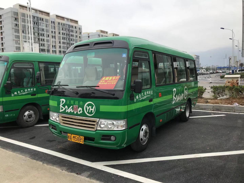 江铃 考斯特 中型 18座 国4排放 二手车