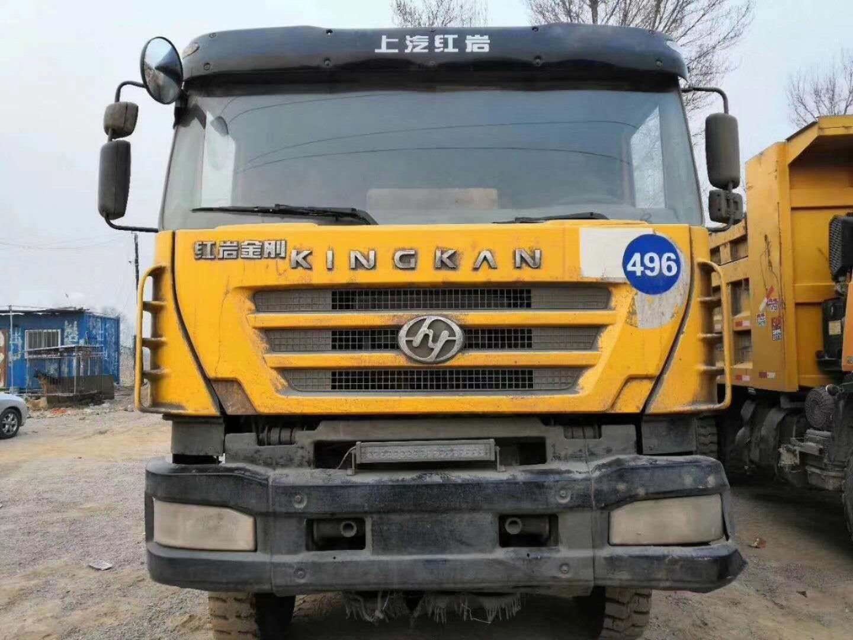 荆州二手自卸车红岩金刚厂家供应