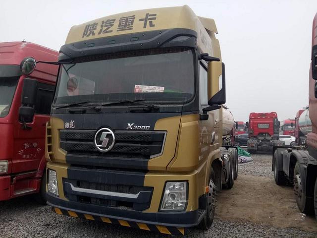 国五陕汽德龙X3000二手牵引车500马力可做按揭