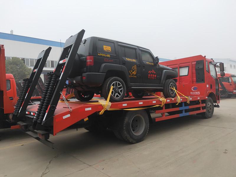 解放J6单桥黄牌平板车15吨挖机运输车首选价格二手车