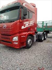 二手货车二手解放J6双驱420马力半挂车