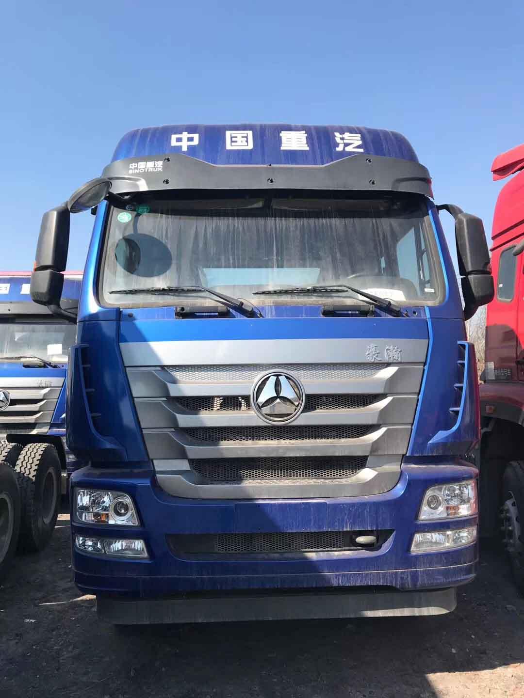 处理特价库存车国五340马力9.6米载货底盘二手车