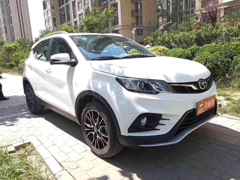 东南DX3  2018款  1.5T  CVT尊贵型、白二手车