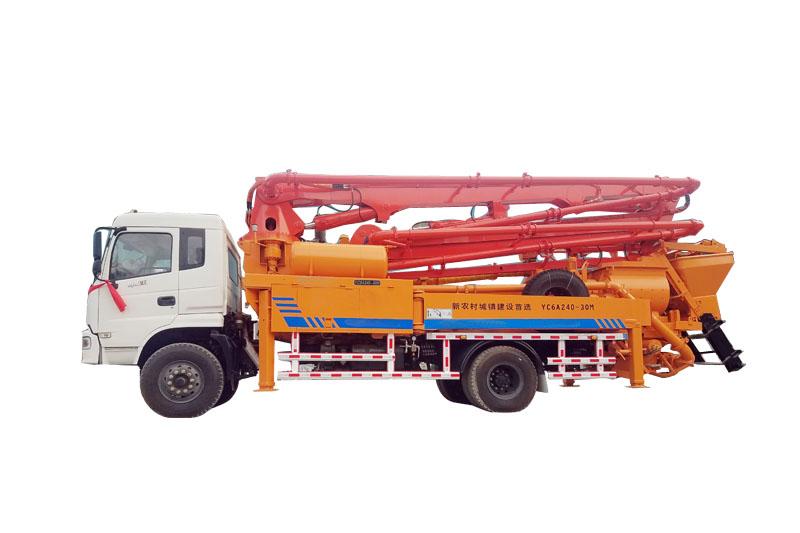 30米小型泵车二手车