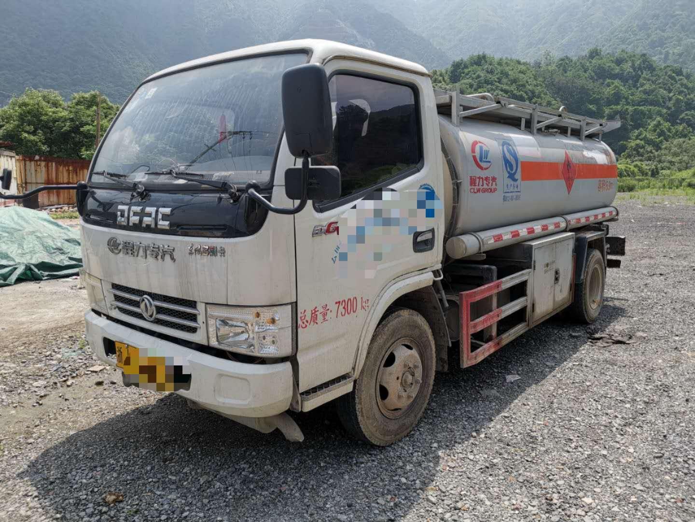 东风5吨油罐车二手车