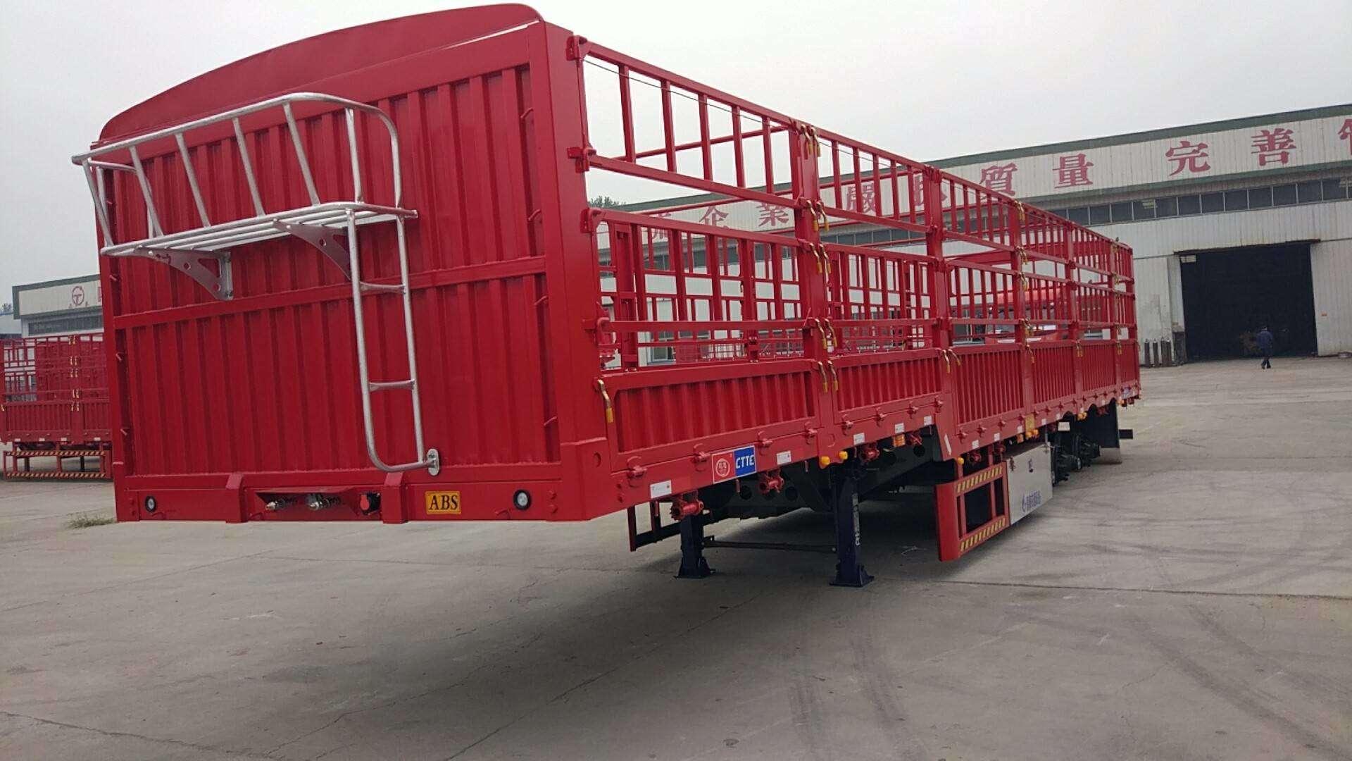 廠家直銷13米輕型花籃半掛車13米花籃自重6噸二手車