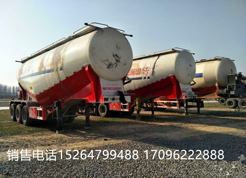 二手散裝水泥罐半掛車70立方包過戶二手車