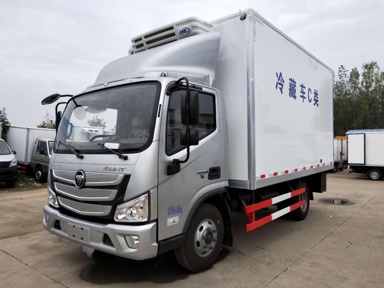 福田欧马可S3冷藏车129马力,整车不超重使用更放心
