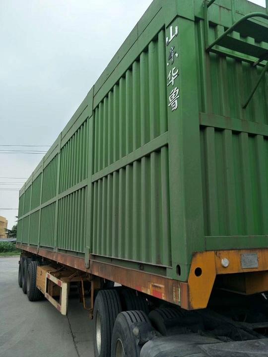 13米平板側翻自卸車出廠3個月全國提檔過戶二手車
