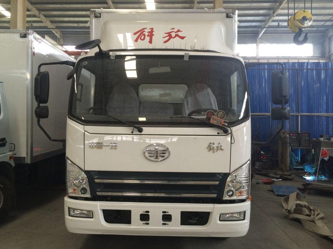 程力4.2米冷藏车,解放虎V保鲜车,牛奶运输神器二手车