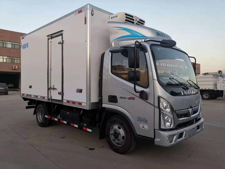 福田奧鈴4.2米冷藏車