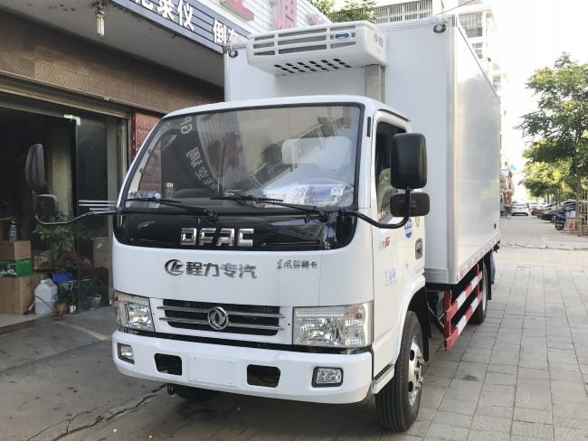 東風4.2多利卡冷藏車