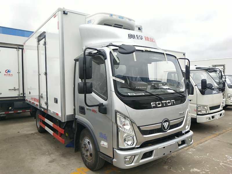 福田速運4.2米冷藏車