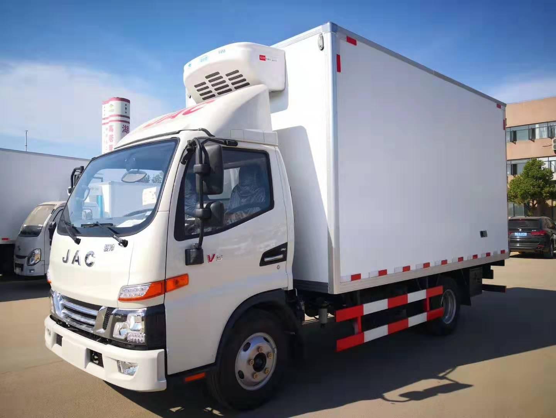江淮駿鈴4.2米冷藏車