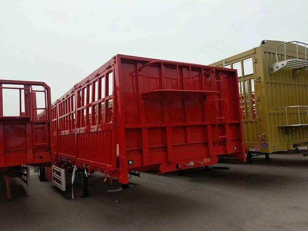 廠家專業訂做10米-13米標箱側翻輕體半掛車二手車