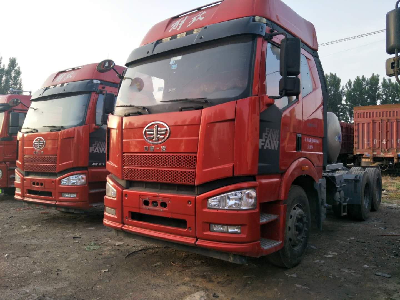 天然氣車 解放J6P 375馬力 國五排放