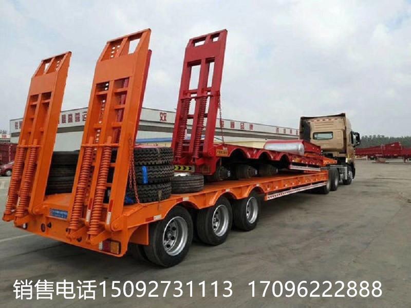 低价出售10米 11米 13米 挖掘机运输车 工程机械低平板二手车