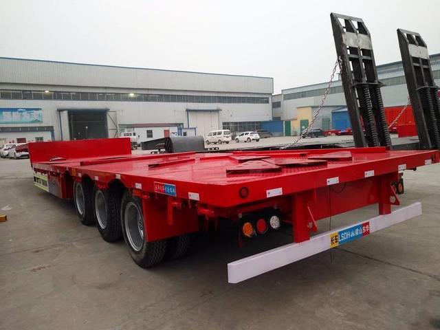 订做10米11米13米13.75米挖掘机运输车工程机械低平板二手车