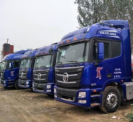 出售二手欧曼GTL双驱牵引车国五排放原车原况支持分期