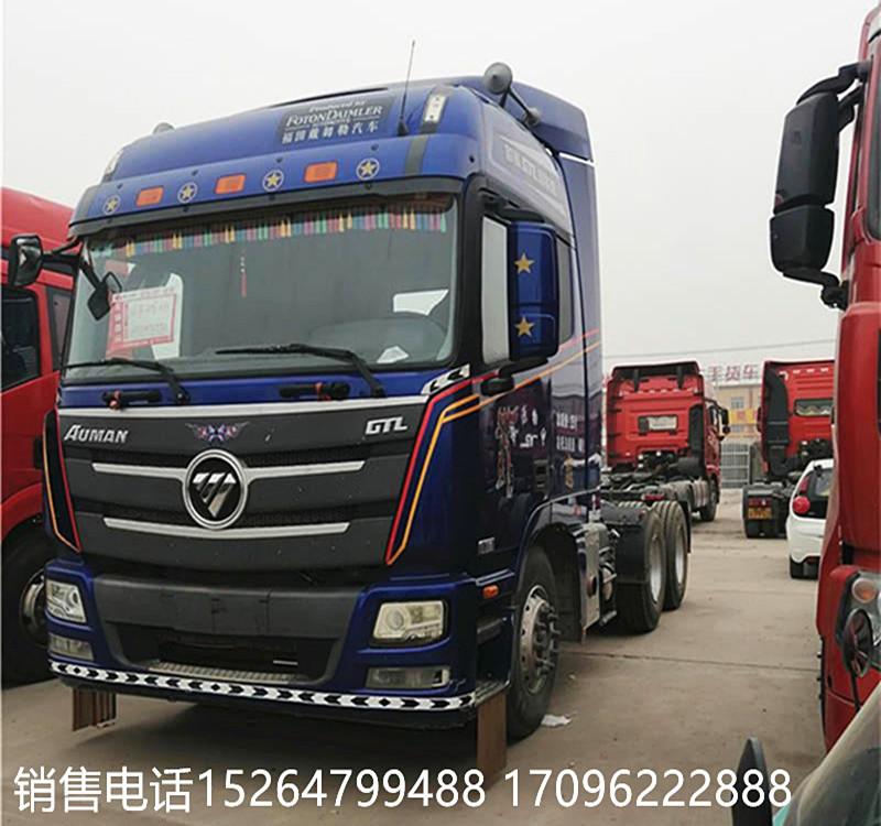 出售二手歐曼GTL雙驅牽引車 負責提檔過戶二手車