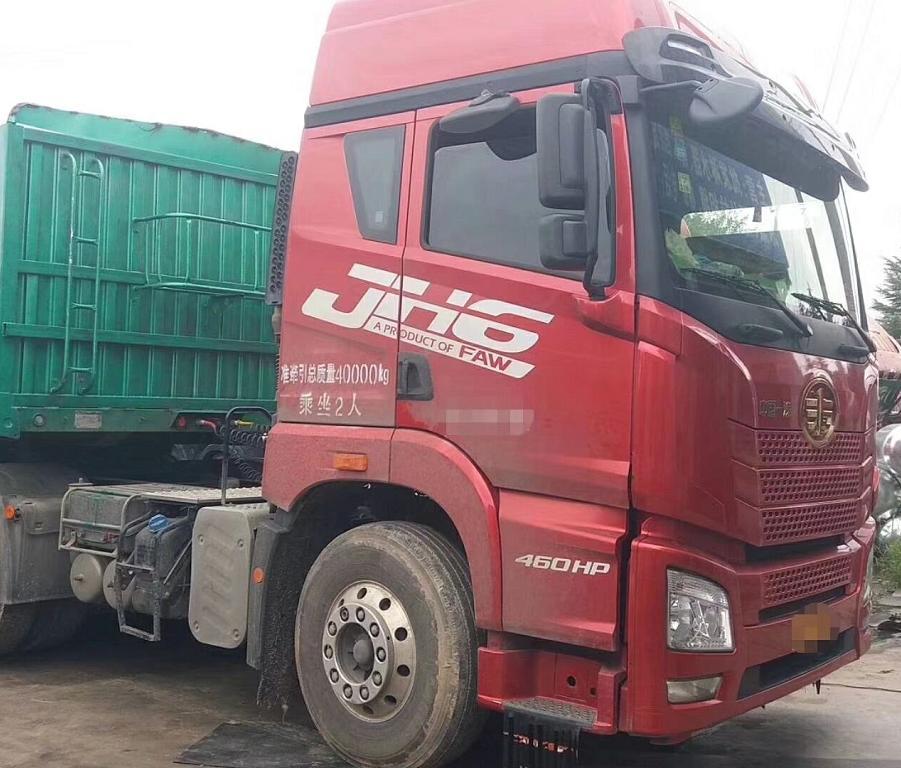 【南宁】二手国四国五青岛解放JH6双驱牵引车头 轻型牵引车拖头 价格18.00万 二手车