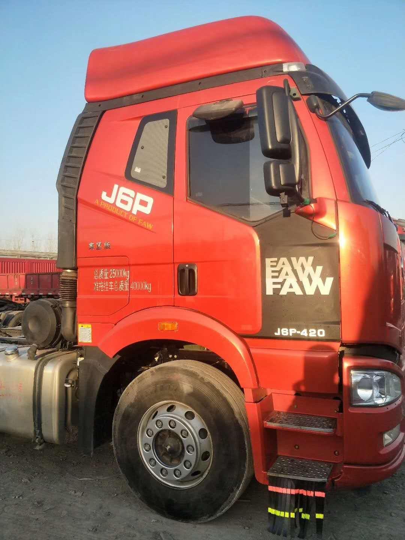 二手解放j6牵引车可分期,全国提户,原版车
