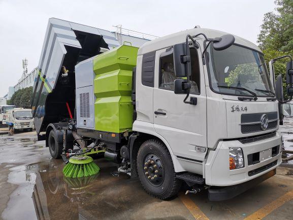 國六東風天錦16方洗掃車二手車
