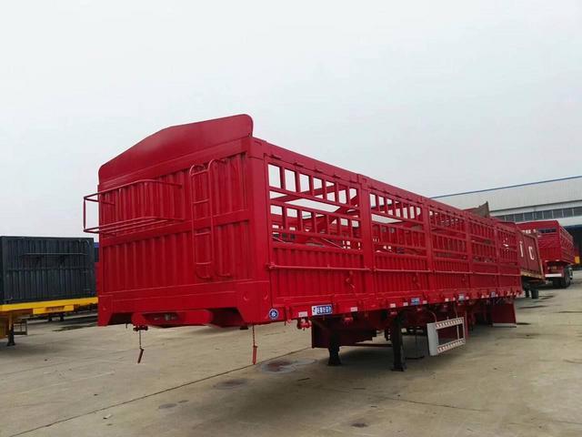 【云浮】鹅颈仓栏半挂车13米 东华汽车制造厂专家制造 价格6.00万 二手车