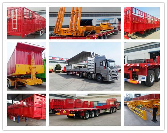 天津包牌定做13米挖掘機運輸車 保拉60噸