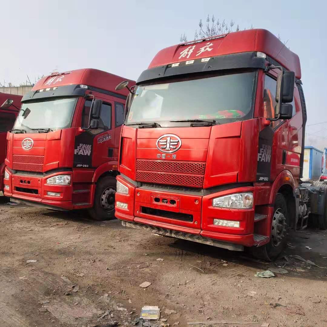 低價出售解放J6P 350馬力牽引車 國五排放