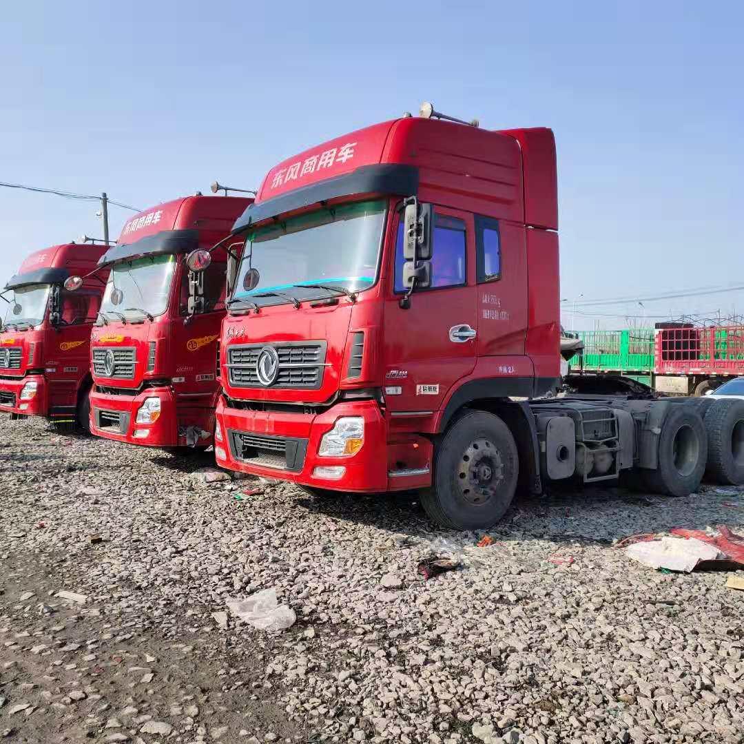 【張掖】啟航版天龍450馬力牽引車出售 國五排放 可分期包提檔 價格21.00萬 二手車