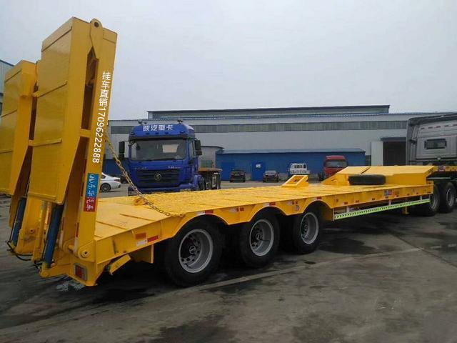 订做2/3桥挖掘机板工程机械运输车二手车
