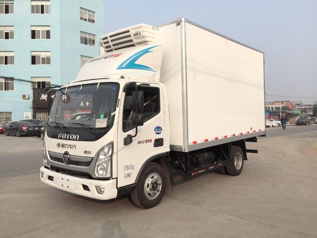福田歐馬可4米2冷藏車出售二手車