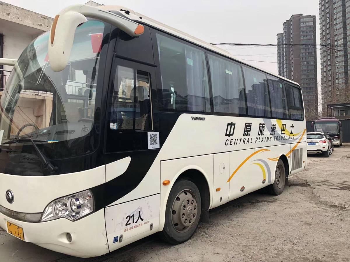 鄭州15年6月21座宇通二手車