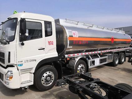 东风天龙25吨油罐车