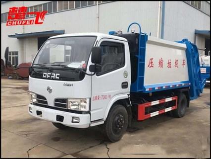 东风5吨压缩垃圾车