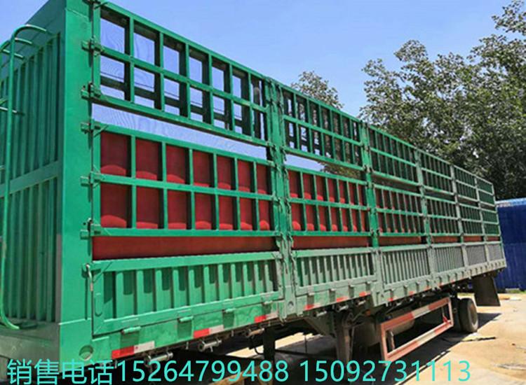 低价出售13米仓栏半挂车 包提档过户 订做轻型半挂车二手车