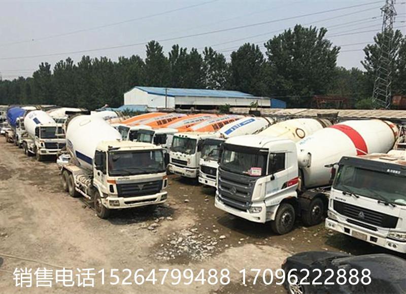 济宁梁山出售欧曼12方混凝土搅拌罐车包过户二手车