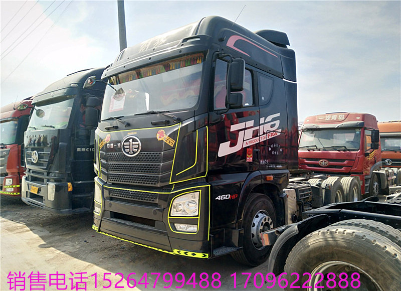 出售輕體國五解放J6P雙驅牽引頭 可分期付款