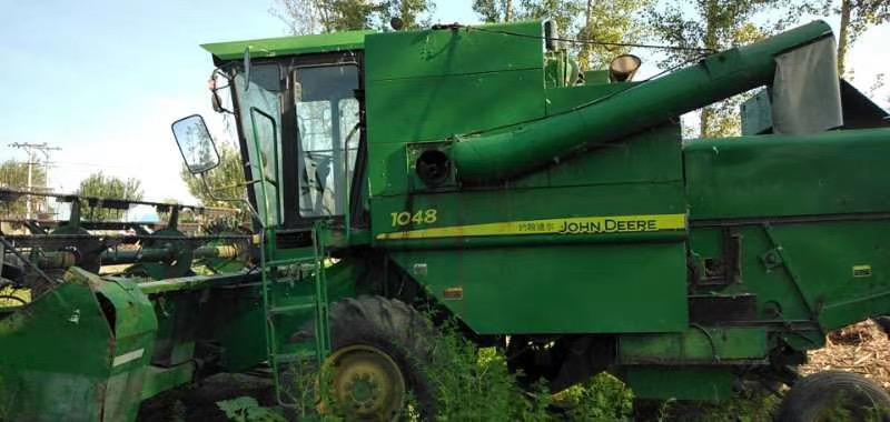 1048黄豆收割机二手车