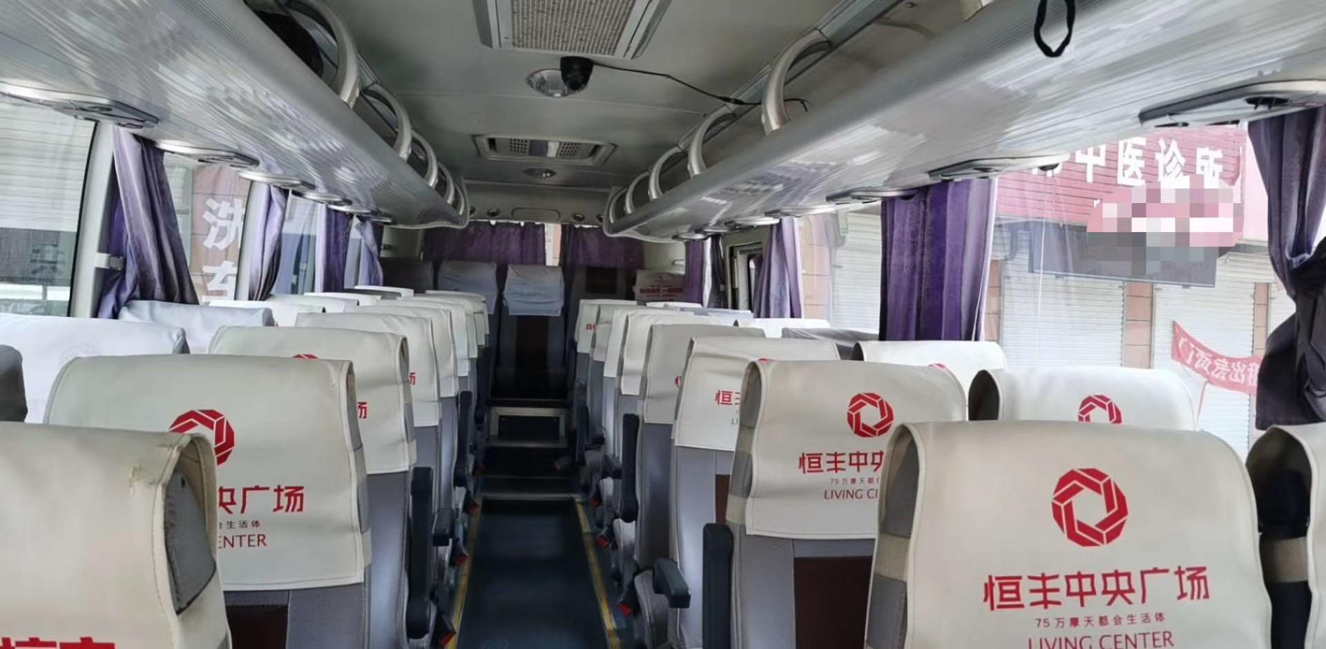 【郑州】15年8月39座宇通 LNG 二手大巴车 价格13.80万 二手车