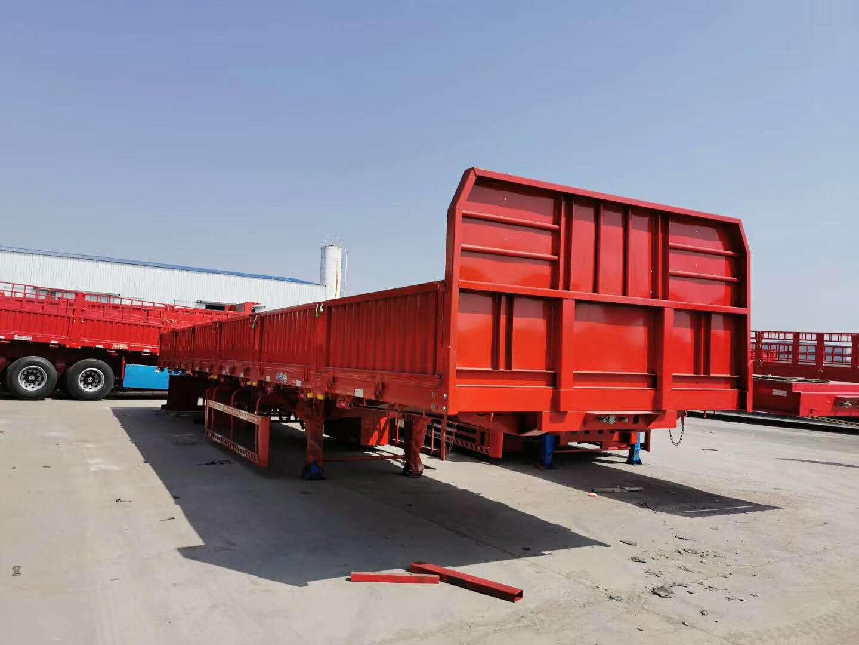 专业订做13米栏板半挂车 全国发货 梁山厂家直销