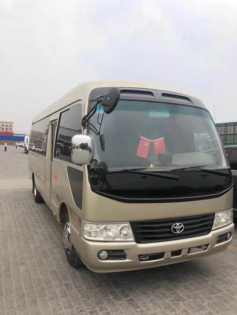 郑州二手大巴车|二手客车|11年丰田考斯特