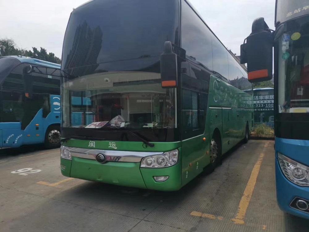 郑州二手大巴车|二手客车|17年9月宇通6126