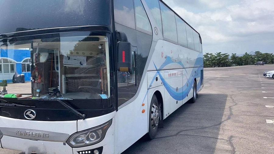 郑州二手大巴车|二手客车|三台金龙客车54座二手车