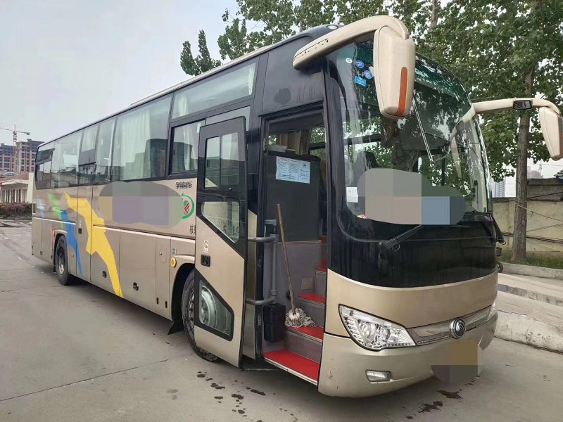 郑州二手大巴车|二手客车|5台17年宇通6119