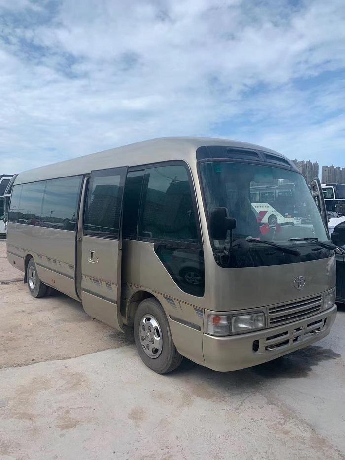 郑州二手大巴车|二手客车|03年四川丰田二手车