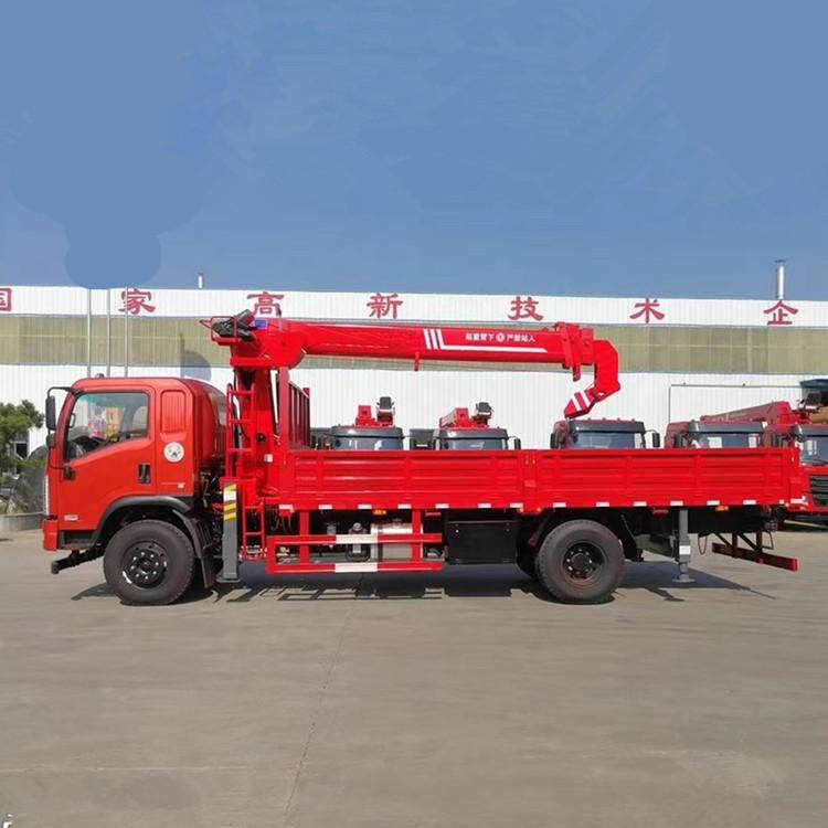 【咸阳】徐工版6.3吨随车吊 价格21.60万 二手车