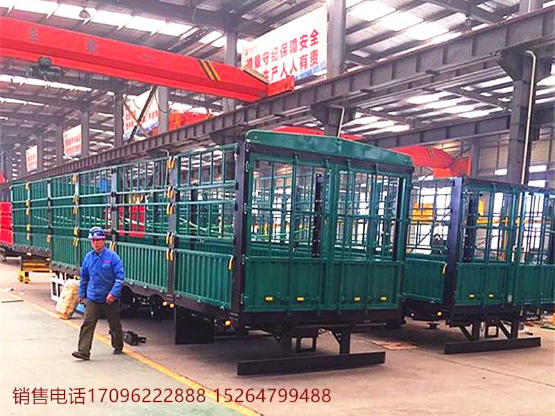 【中卫】出售轻体13米仓栏自卸侧翻半挂车 价格优惠 价格6.00万 二手车